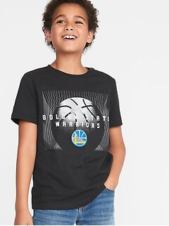NBA® Team Basketball-Graphic Tee for Boys