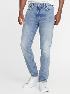 Relaxed Slim Built-In Tough All-Temp Jeans for Men