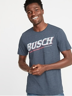 Busch&#174 Beer Graphic Tee for Men