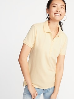 Uniform Pique Polo for Women