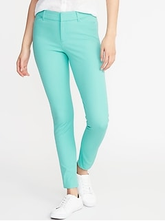 Mid-Rise Full-Length Pixie Pants for Women