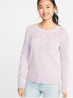 Crew-Neck Sweater for Women