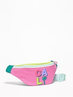 Graphic Canvas Fanny Pack for Girls