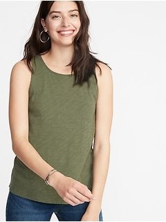 EveryWear Slub-Knit Tank for Women