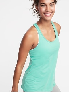 1eff72571280f Shadow-Stripe Racerback Performance Tank for Women