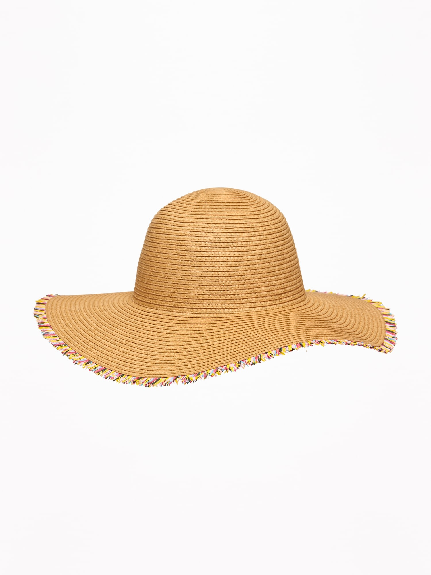 336cd27f Fringed Straw Sun Hat For Toddler Girls | Old Navy