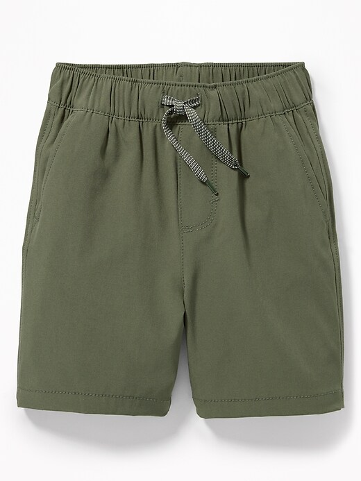 Dry Quick Functional Drawstring Shorts for Toddler Boys