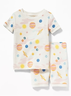 Solar System Sleep Set For Toddler Girls & Baby