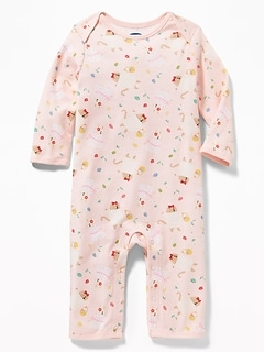 Easter-Print One-Piece for Baby