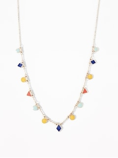 Multi-Stone Statement Necklace for Women