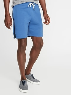 Side-Stripe Jogger Shorts for Men - 7.5-inch inseam