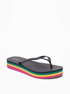 5f1ce5c17e55 Platform Flip-Flops for Women