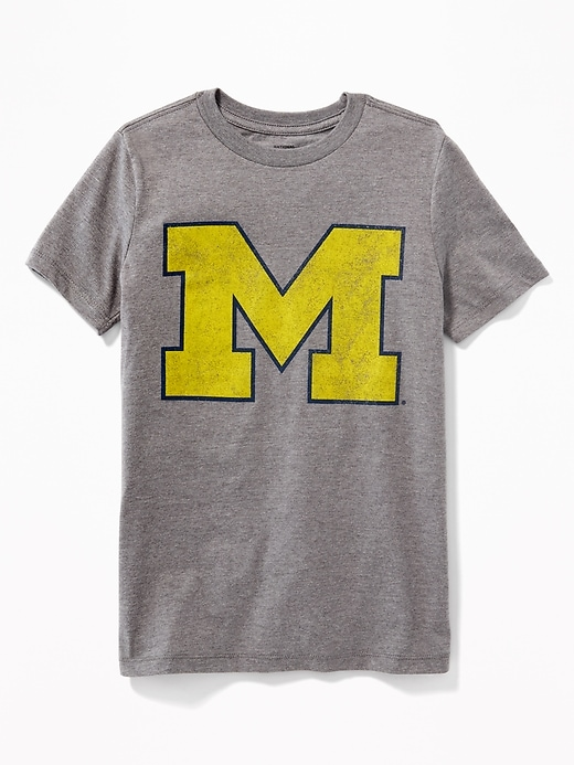 College-Team Graphic Tee for Boys