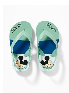 Disney&#169 Mickey Mouse Flip-Flops For Toddler Boys