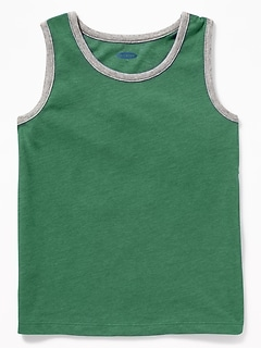 Soft-Washed Jersey Tank for Toddler & Baby