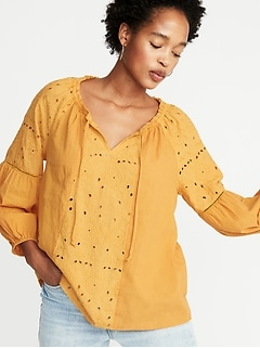 272a432c9ae980 Long Sleeve Shirts for Women | Old Navy