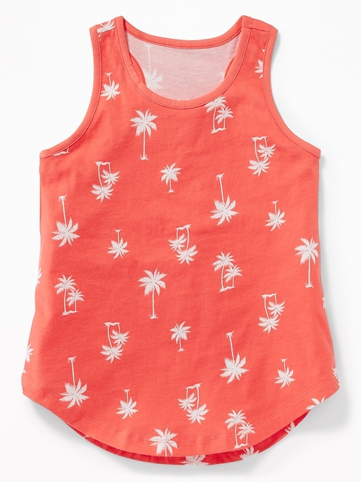 Printed Softest Tank for Girls
