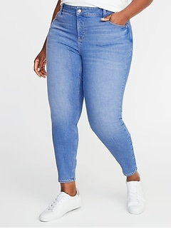 High-Rise Secret-Slim Pocket Plus-Size Rockstar