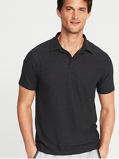Ultra-Soft Breathe ON Go-Dry Built-In Flex Polo for Men
