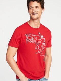 2089156185c Florida-Graphic Crew-Neck Tee for Men