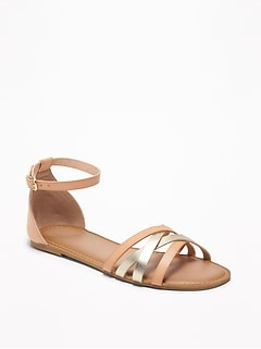 Strappy Ankle-Strap Sandals for Women