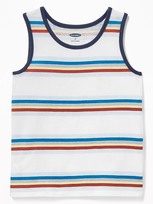 Striped Jersey Tank for Toddler & Baby