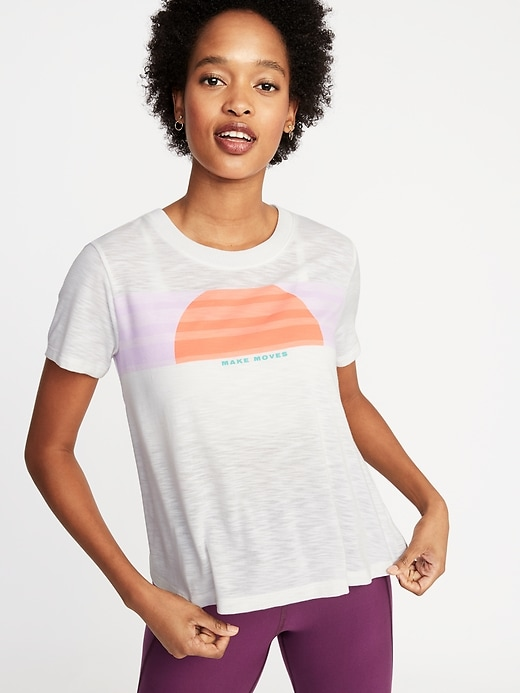 Graphic Performance Swing Tee for Women
