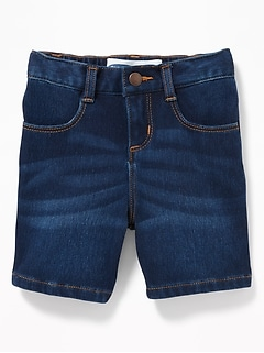 24/7 Denim Bermudas for Toddler Gilrls