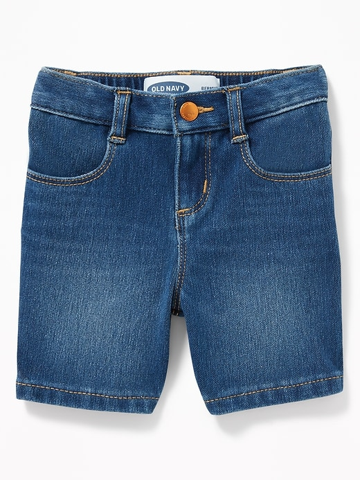 24/7 Denim Bermudas For Toddler Gilrls by Old Navy