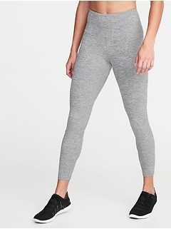High-Waisted 7/8-Length Performance Leggings For Women