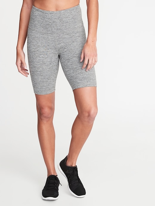 High-Waisted Elevate Compression Bermudas For Women - 8-Inch Inseam