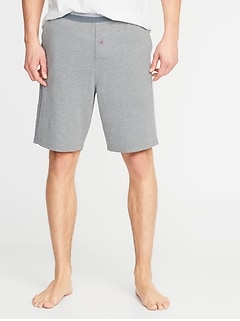 Jersey Sleep Shorts for Men  -- 9-inch inseam