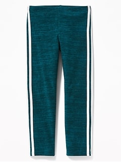 Cropped Jersey Leggings for Girls