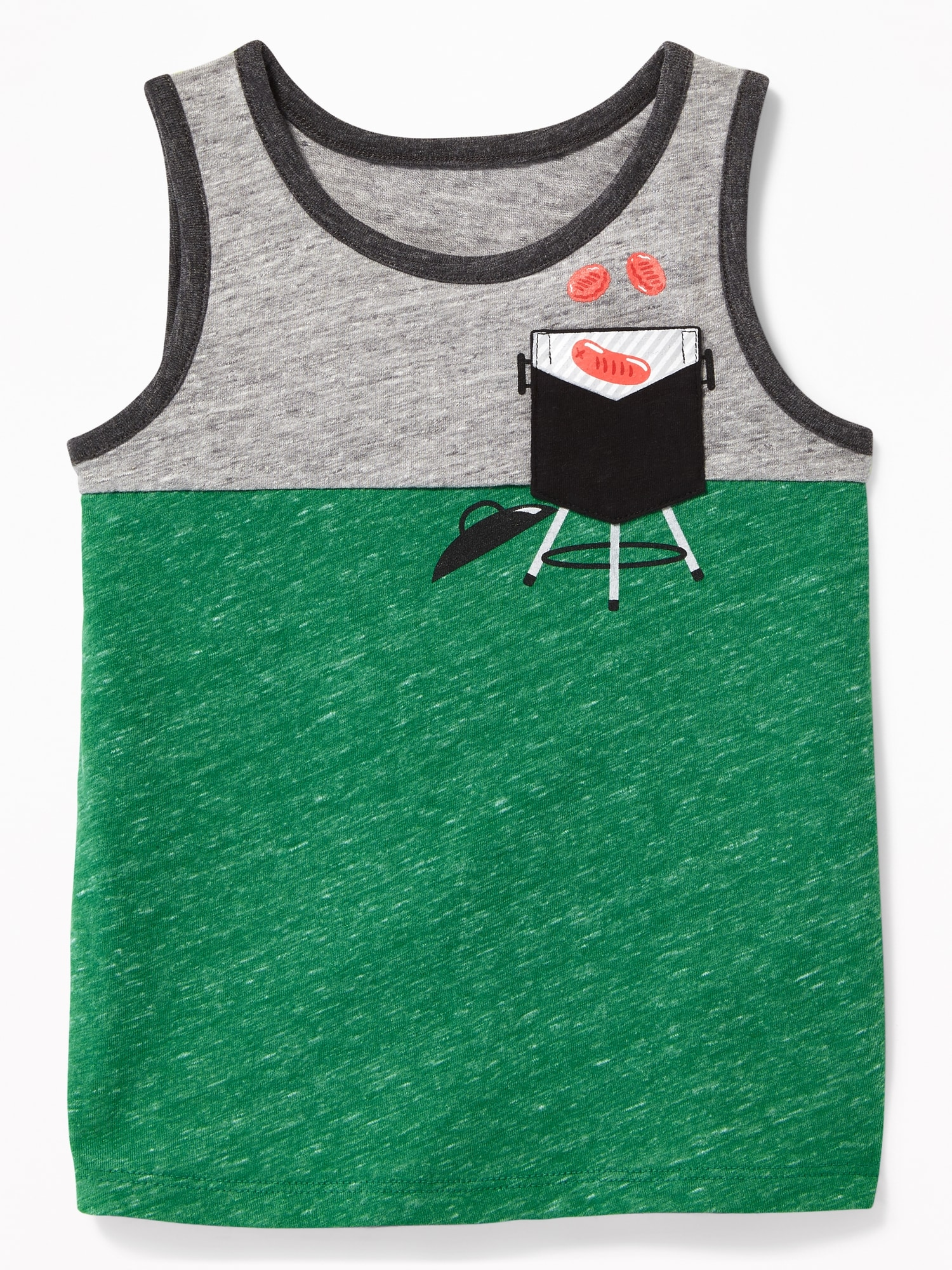 341d11b3 Color-Blocked Graphic-Pocket Tank for Toddler Boys | Old Navy