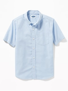 Uniform Oxford Stretch Shirt for Boys