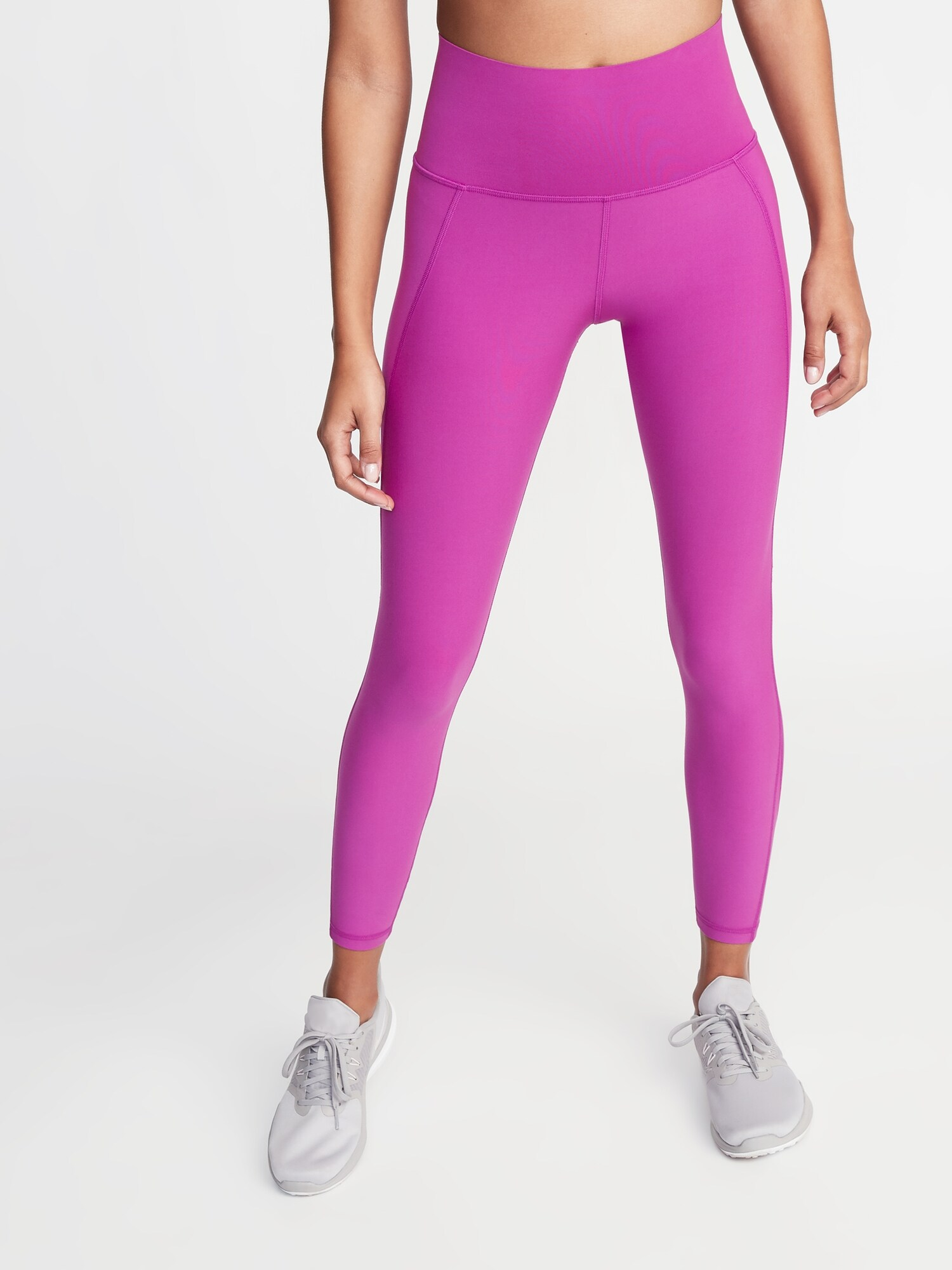 879ebaac5d High-Rise Elevate Built-In Sculpt 7/8-Length Compression Leggings for