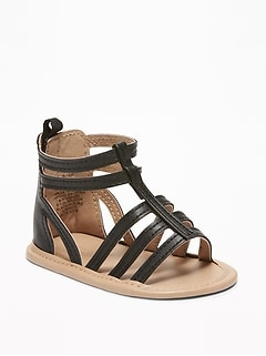 Caged Gladiator Sandals for Baby