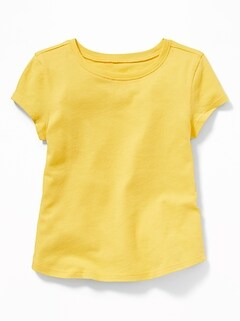 Soft-Washed Crew-Neck Tee for Toddler & Baby