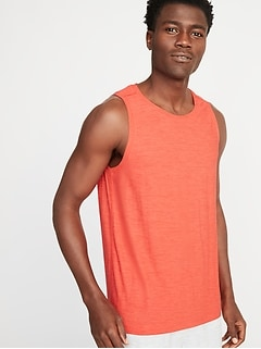 Breathe ON Crew-Neck Tank for Men