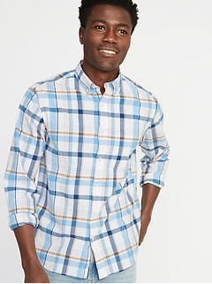 Regular-Fit Built-In Flex Everyday Shirt for Men