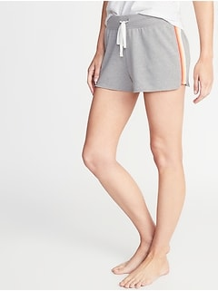 French-Terry Drawstring Shorts for Women  - 2-inch inseam