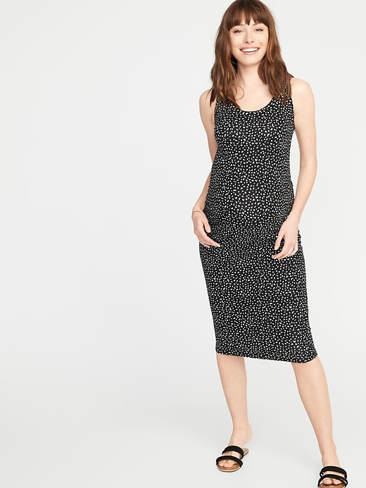 54ce91369e239 Maternity Bodycon Tank Dress | Old Navy