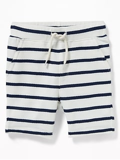 Striped French-Terry Shorts for Toddler Boys
