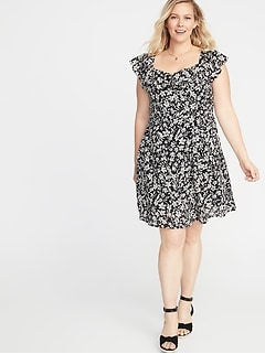 Plus Size Dresses on Clearance | Old Navy