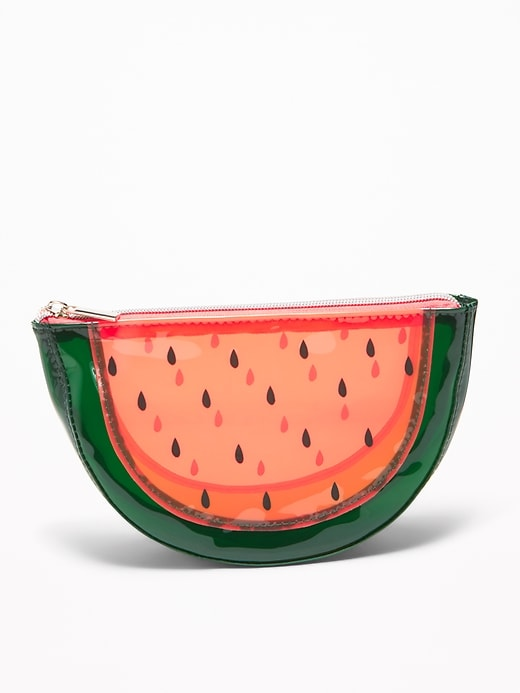 Fruit-Shaped Cosmetics Case for Women
