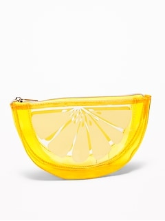 Fruit-Shaped Cosmetics Case
