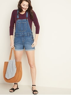 84842e502a0b0 Denim Overalls & Chambray Rompers | Old Navy