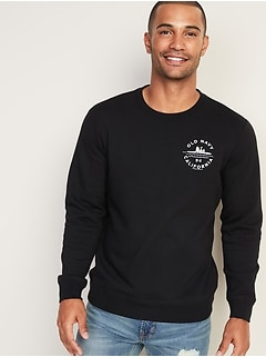 Peanuts&#174 Snoopy & Woodstock Logo Sweatshirt for Men