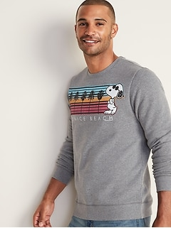 "Peanuts&#153 Snoopy ""Venice Beach"" Sweatshirt for Men"
