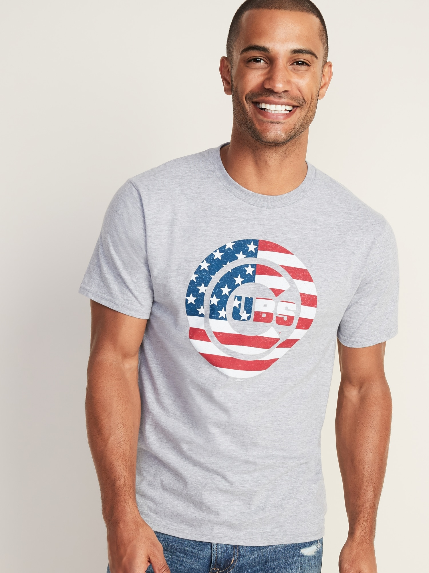 221c68ddf MLB® Americana Team-Graphic Tee for Men | Old Navy